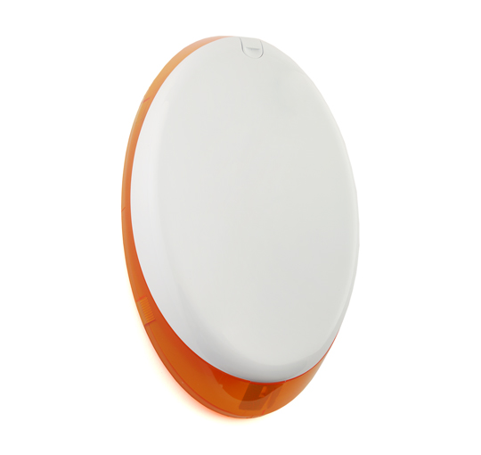 External Wireless Sounder Oval Amber